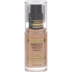 MAX FACTOR Miracle Match Foundation 65 ROSE BEIGETrasforma il tuo look con una pelle impeccabile e nutrita* dal colore