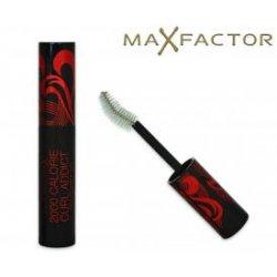 NEW MAX FACTOR 2000 CALORIE CURL ADDICT MASCARA. 11ML. BLACKapplicatore curvo per piegare e darevolume. Privo di profu