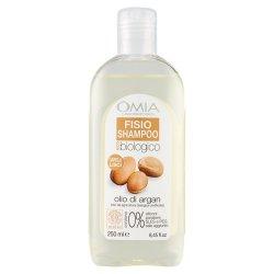 Omia - Fisio shampoo olio di argan 250 mlECO BIO COSMETICO CERTIFICATO FORMULA SENZA SALE AGGIUNTO Formulazione senza