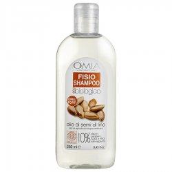 Omia - Fisio shampoo semi di lino 250 mlECO BIO COSMETICO CERTIFICATO FORMULA SENZA SALE AGGIUNTO Formulazione senza S
