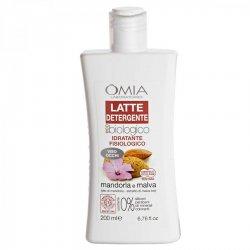 Omia - Latte detergente mandorla e malva 200 mlMandorla, un Estratto di Malva BIO, ed una selezione di principi attivi