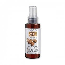 Omia - Olio di argan capelli 100 mlPRODOTTO ECO-BIOLOGICO. FORMULA NUTRIENTE E LISCIANTE PER CAPELLI SECCHI E CRESPI.