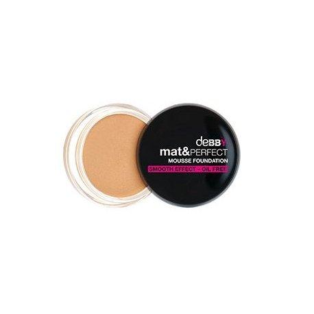 Debby mat&perfect - mousse foundation colore 05 mat caramelDebby mat&perfect - mousse foundation colore 05 mat caramel