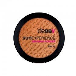 Debby Terra Sun Experience Spf15 01  Dalla texture leggera, ultrasetosa e dalla perfetta sfumabilità. La speciale formu
