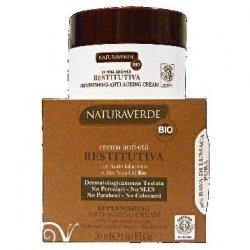 Naturaverde bio crema antietà RestitutivaNaturaverde bio crema antietà restitutiva Con acido ialuronico e aloe vera ge