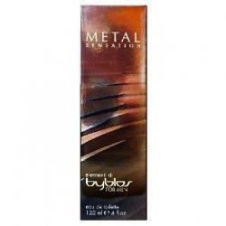BYBLOS EDT UOMO METAL 120 ML.La forma racconta più delle parole.Potenza, eleganza, trasformazione, metallo lucido son