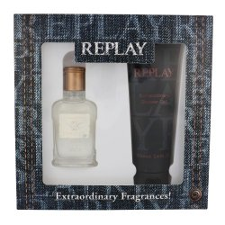 Replay Jeans Original Him Edt 30ml & Shower Gel 100ml Gift Set