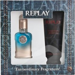Replay Profumi True Replay For Him Eau de Toilette ml.30 + GEL DOCCIA ML.100