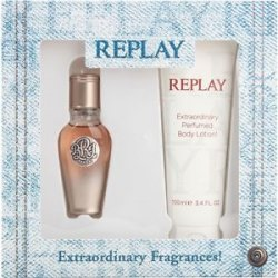 REPLAY True Replay For Her Natural Spray 20 ml +Body Lotion 100ml