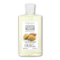 OMIA Erboristico Bagno Olio Di Mandorla 400 MLL assenza di parabeni e coloranti sintetici rende il prodotto delicato s