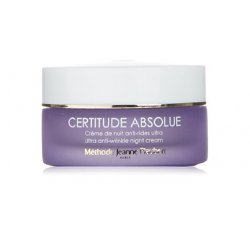 Jeanne Piaubert Certitude Absolue Crema Notte Viso - 50 mlCERTITUDE ABSOLUE Crema notte anti-rughe ultra ripara e levig