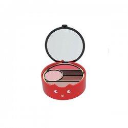Pupa Trousse Cat 1 002 rossoIl cofanetto trucco più piccolo della collezione. Una trousse ideale per avere sempre labbr