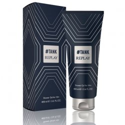 Replay #Tank for Him Gel Doccia (400ml)è una fragranza fresca e raffinata dedicata ad un giovane uomo, moderno e pieno