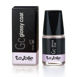 LaJolie GLOSSY coat Fissa e prolunga la durata dello smalto per un effetto super luminoso