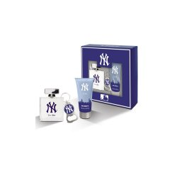 New York Yankees - Cofanetto new york yankees for men - eau de toilette 100 ml + shower gel 100 ml + portachiaviCofanet