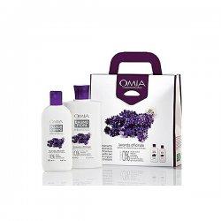 Omia - Cofanetto lavanda officinale bio - bagno fiori 400 ml + crema fluida corpo 250 mlCofanetto Lavanda Officinale Bi