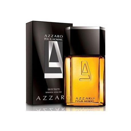 AZZARO - AZZARO HOMME Eau De Toilette Spray 100 ML Un profumo elegante e raffinato in tutto stile  italiano. Senza temp