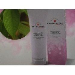 TRANSVITAL essential crema corpo snellente anticellulite 200 ml ,aiuta l eliminazione dei grassi conservati nelle cellul