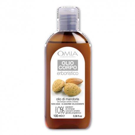 Omia Olio Corpo all\'Olio di Mandorla 100 mlLa formula:L\'olio di Mandorla della linea erboristica di OMIA laboratoires c