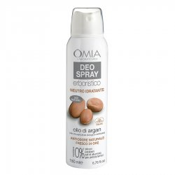 Omia Deo spray olio di argan deodorante 150 mlUna linea Anti-Odore per persone con odorazione intensa. Idrata e regola