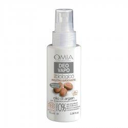 Omia Deo vapo olio di argan deodorante 75 mlUna linea Anti-Odore per persone con odorazione intensa. Idrata e regola la
