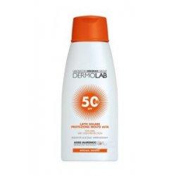 DERMOLAB LATTE SOLARE VISO E CORPO SPF50+Latte solare protezione alta per viso e corpo SPF50+Arricchita con un Pool di