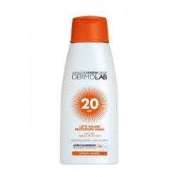 DERMOLAB LATTE SOLARE VISO E CORPO SPF20 200mlLatte solare protezione media per viso e corpoArricchita con un Pool di