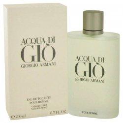 Acqua Di Giò pour HommeEau de Toilette 200mlFresco, seducente e sensuale, Acqua Di Giò è ricco degli aromi degli agrum
