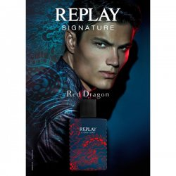 Replay Profumi Replay Signature Red Dragon For Man Eau de Toilette 50 ml sprayReplay Signature Red Dragon è il secondo