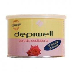 Depiwell Cera Depilatoria Liposolubile Vaso 400ml Biossido Di Titanio Rosa        super offerta 3pz 10 euro 1 pz 4 euro