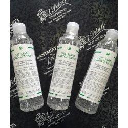 Gel mani igienizzante 250 ml gel fluido a base alcolica per la detersione e igienizzazione delle mani