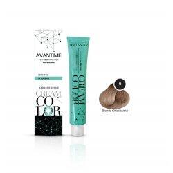 crema colorante n9 biondo chiarissimoL'innovativo trattamento professionale in crema per la colorazione dei capelli AVA