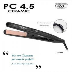 Gi&Gi PC 4.5 CERAMIC è una piastra lisciante, utile e facile da usare.Modella e arriccia i tuoi capelli leggermente bagn