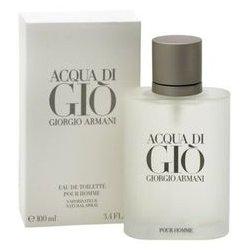 ACQUA DI GIO UOMO 100MLLa fragranza che si ispira alle coste dell\'Isola di Pantelleria dove Giorgio Armani ama trascor