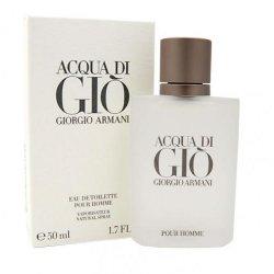 ACQUA DI GIO UOMO EDT 50 ML VAPOLa fragranza che si ispira alle coste dell\'Isola di Pantelleria dove Giorgio Armani am
