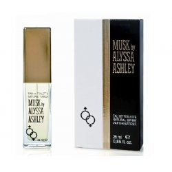 Alyssa Ashley - Musk Eau de Toilette - 25 ml SprayFragranza di un aroma forte ma sensuale. Le sue note: bergamotto, fi