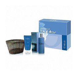 Byblos - cielo - eau de toilette 120 ml + body lotion 100 ml + cestino paillettes